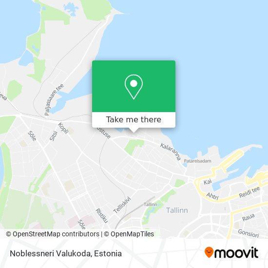 Noblessneri Valukoda map