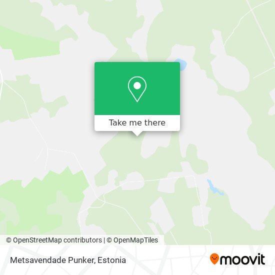 Карта Metsavendade Punker