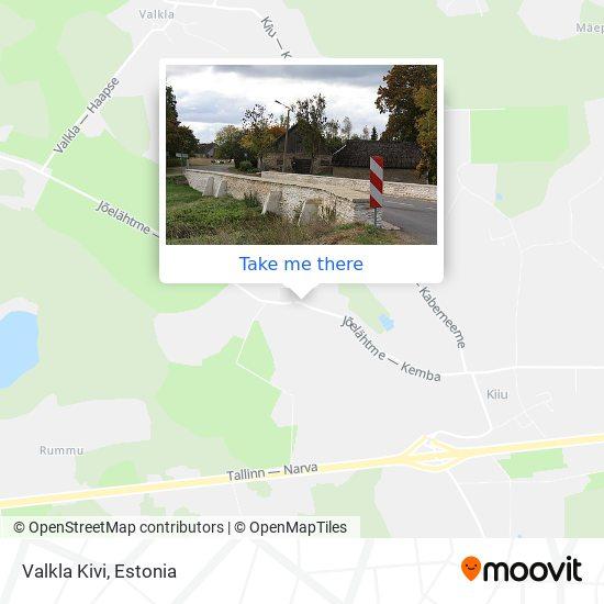 Valkla Kivi map