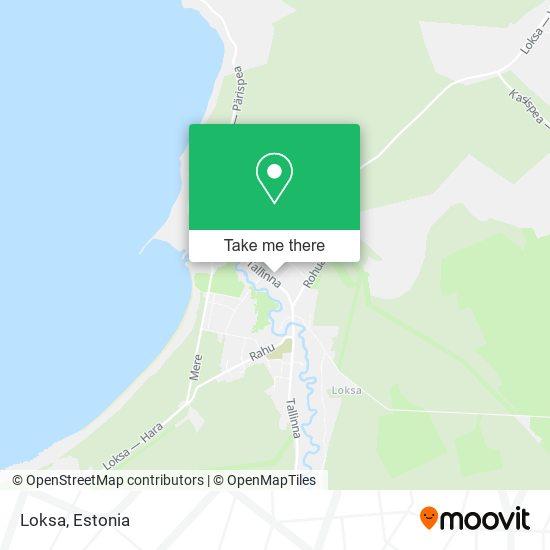 Loksa map