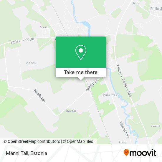 Карта Männi Tall