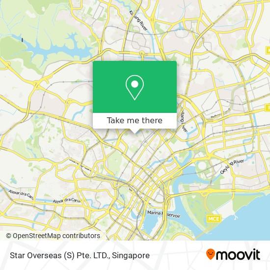 Star Overseas (S) Pte. LTD. map