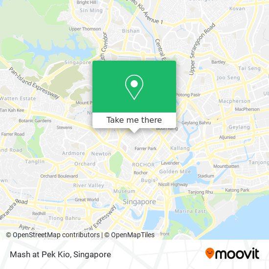 Mash at Pek Kio map