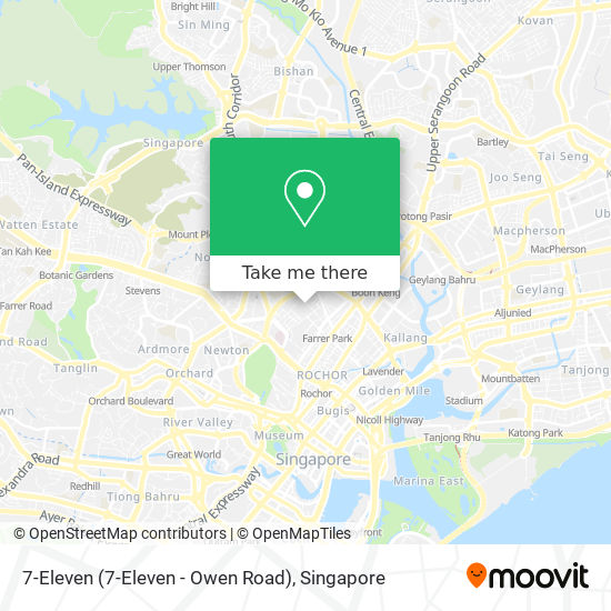 7-Eleven (7-Eleven - Owen Road) map
