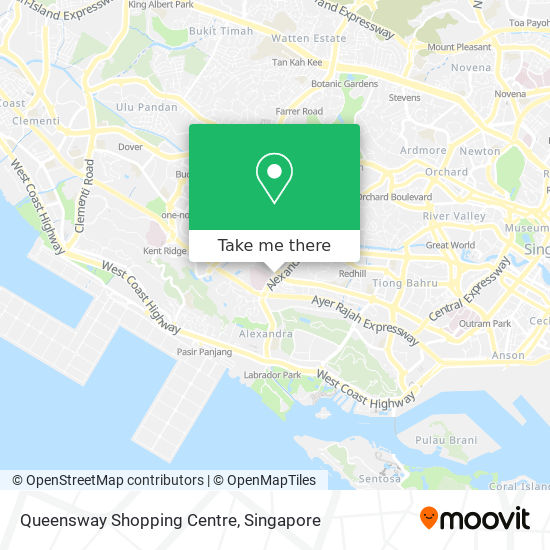 Queensway Shopping Centre map