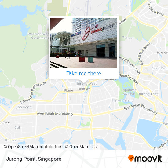 Jurong Point map