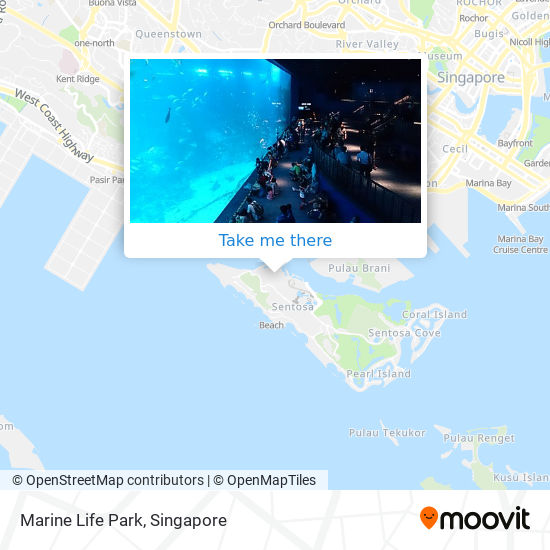 Marine Life Park map