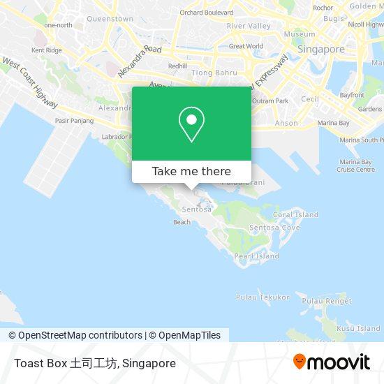 Toast Box 土司工坊 map