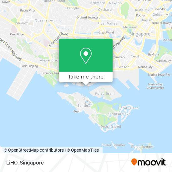 LiHO map