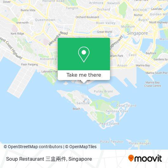 Soup Restaurant 三盅兩件 map
