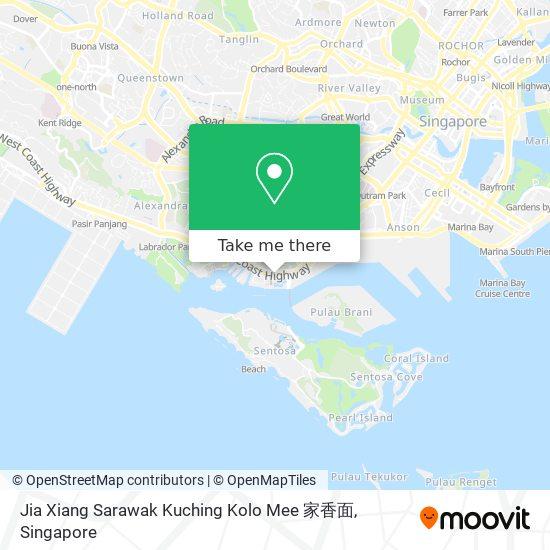Jia Xiang Sarawak Kuching Kolo Mee 家香面 map