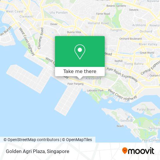 Golden Agri Plaza map