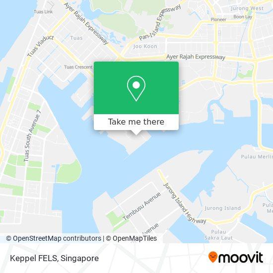 Keppel FELS map