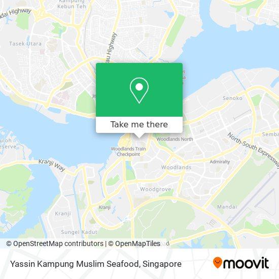 Yassin Kampung Muslim Seafood map