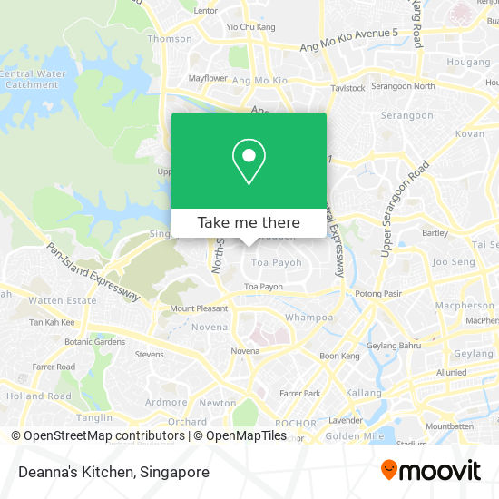 How To Get To Deanna S Kitchen In Singapore By Bus Or Metro Moovit