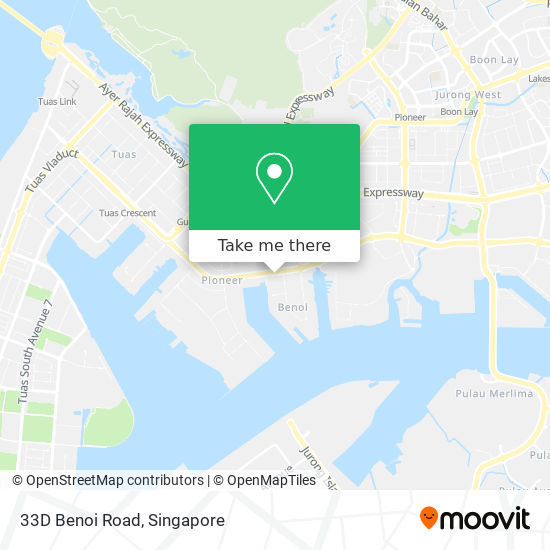 33D Benoi Road map