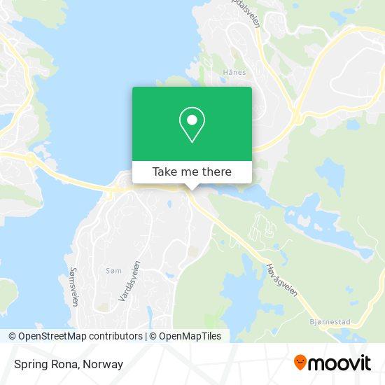 Spring Rona map