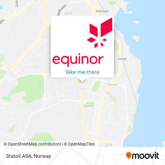 Statoil ASA map