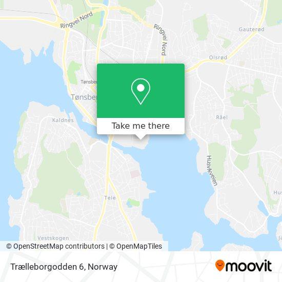 Trælleborgodden 6 map