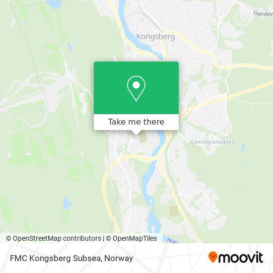 FMC Kongsberg Subsea Karte