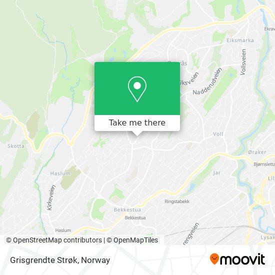 Grisgrendte Strøk map
