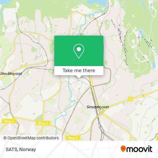 SATS map