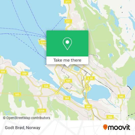 Godt Brød map