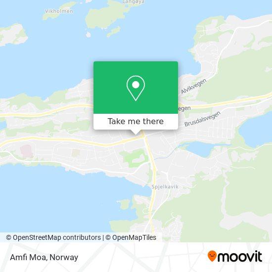 Amfi Moa map