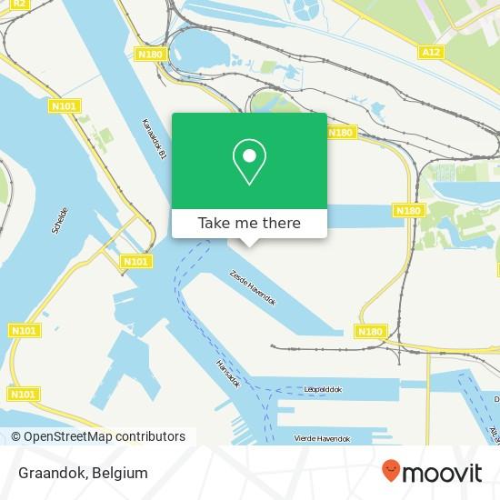 Graandok map