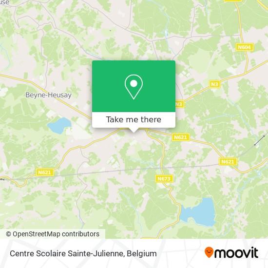Mapa Institut Sainte Julienne