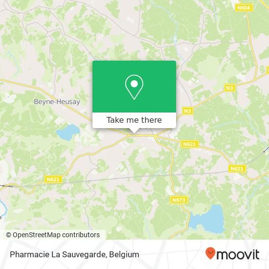 Pharmacie La Sauvegarde plan