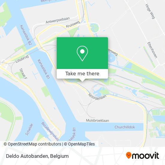 Deldo Autobanden Karte