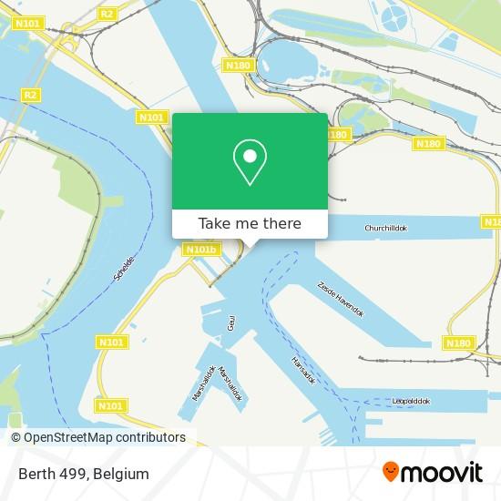 Mapa Berth 499