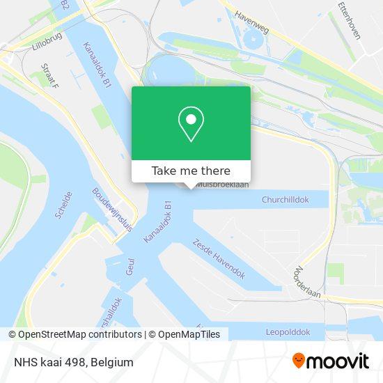 NHS kaai 498 Karte