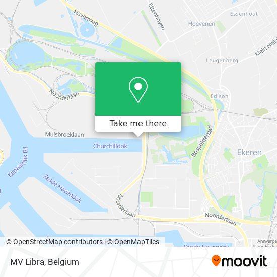 MV Libra Karte