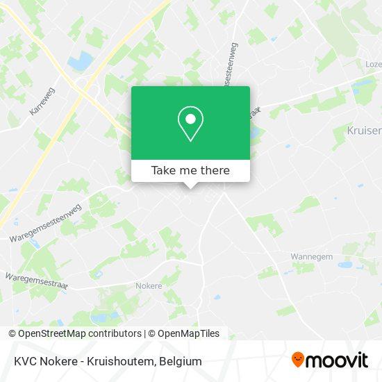 KVC Nokere - Kruishoutem Karte