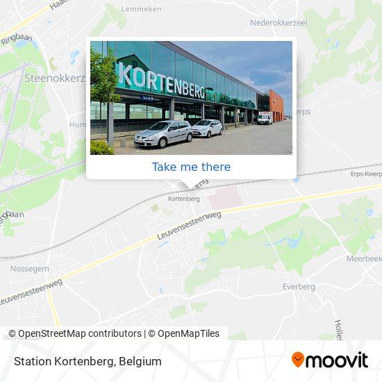 Station Kortenberg Karte
