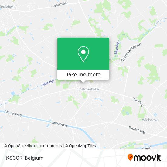 KSCOR map
