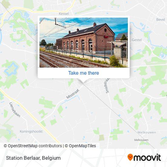 Station Berlaar plan