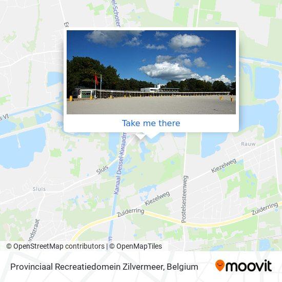 Provinciaal Recreatiedomein Zilvermeer plan