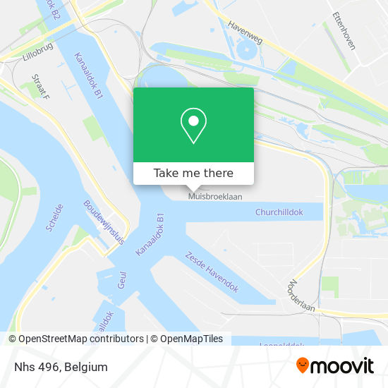 Mapa Nhs 496