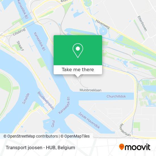Transport joosen -HUB Karte