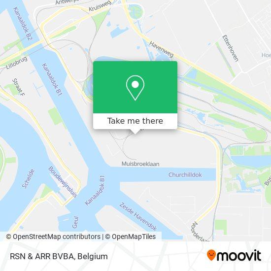 RSN & ARR BVBA Karte