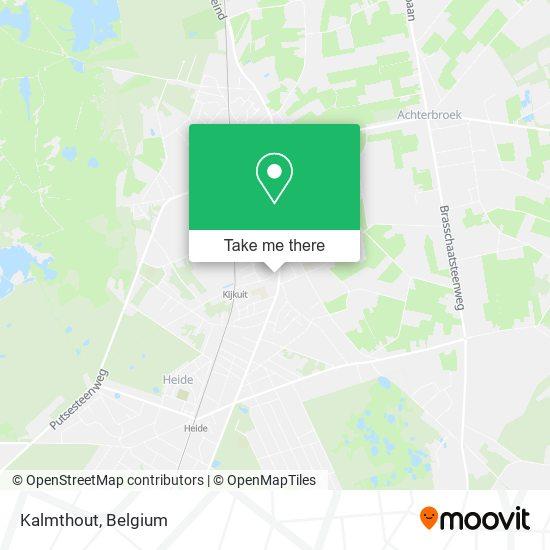 Kalmthout Karte