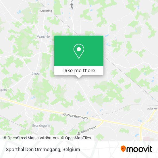Mapa Sporthal Den Ommegang