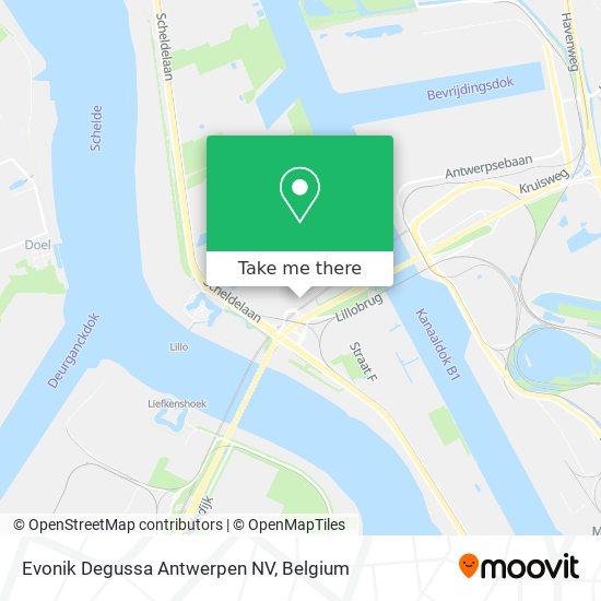 Evonik Degussa Antwerpen NV Karte