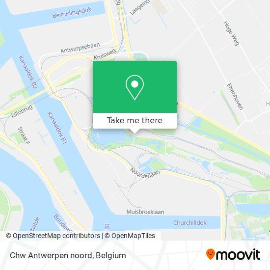 Chw Antwerpen noord Karte