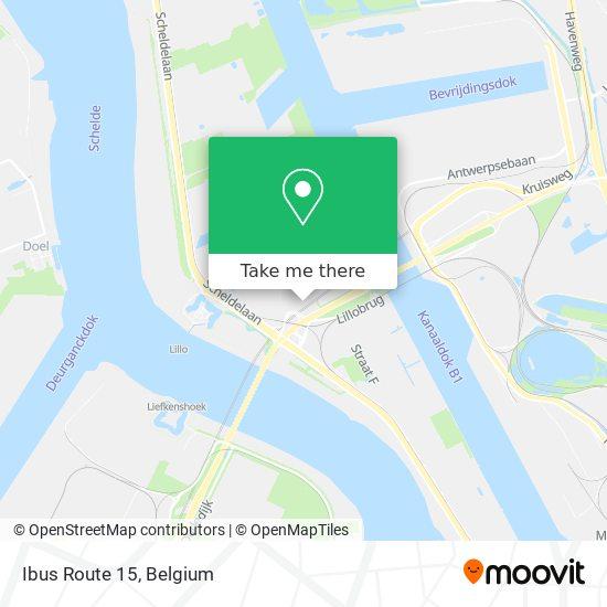 Ibus Route 15 Karte