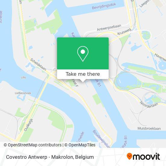 Covestro Antwerp - Makrolon Karte