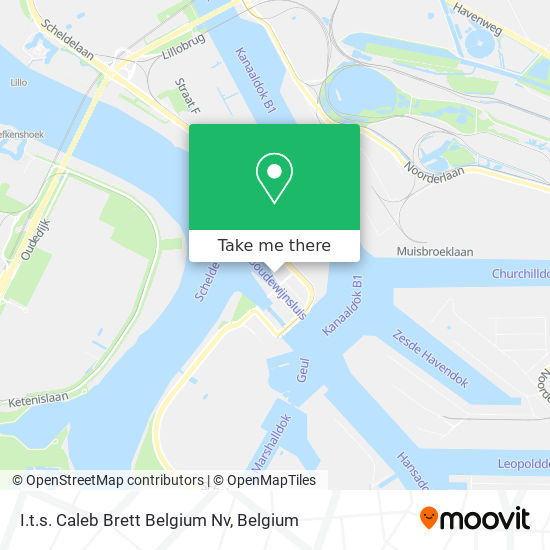 Mapa I.t.s. Caleb Brett Belgium Nv